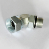 6902 NPSM swivel / SAE O-ring boss SAE 140357 45° Elbow Thread Adapter metal pipe connector