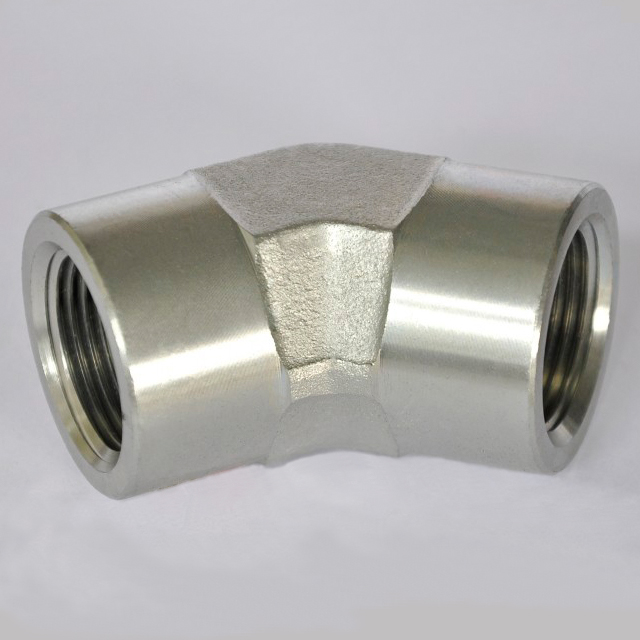 45° Female Pipe Elbow 5505 Female pipe thread / female pipe thread SAE 140338 tubing and fittings