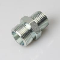 1DT METRIC MALE 24°H.T./ BSPT MALE 60° construction machinery component