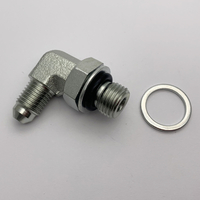 1JG9 JIC MALE ELBOW 74°CONE/O-RING MALE bsp HYDRAULIC fittings