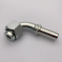 20291 90° Metric Female Flat Seat hydraulic elbow fittings