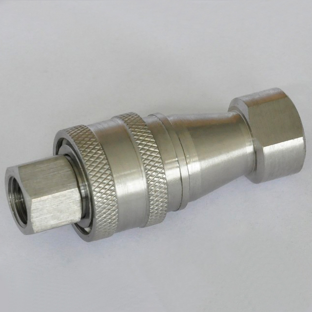 ISO7241-B KZF CLOSE TYPE quick disconnect coupling (Stainless Steel)