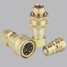 ISO7241-B S2 Close Type Hydraulic quick disconnect hose fittings(Steel)