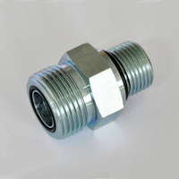 FS6400 ORFS tube end / straight thread O-ring SAE 520120 Straight Thread Connector straight connector