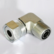 2E9 90°METRIC MALE O-RING hydraulic hose adapters